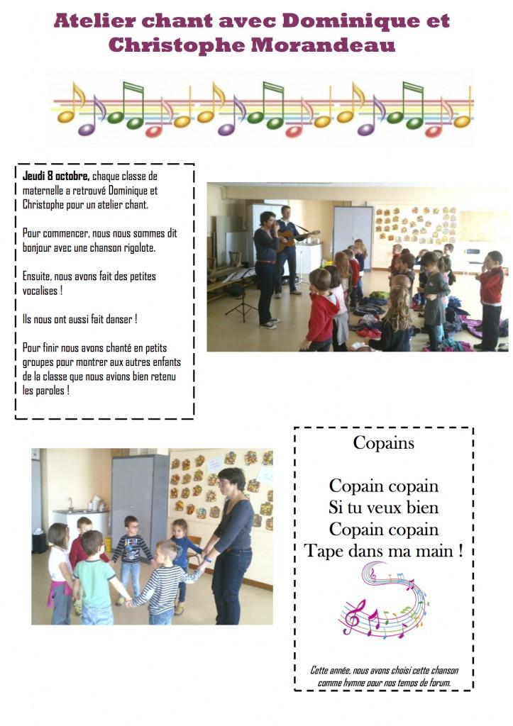 Une nouvelle aventure de création avec l'école de Jallais