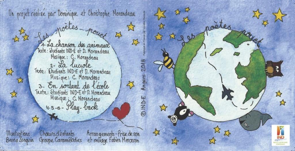 3 nouvelles chansons avec les étudiants de l'IND-E Angers